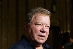 William Shatner. Actor William Shatner in town for the Montreal ComicCon Stock Photography