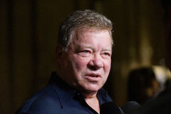 William Shatner. Actor William Shatner in town for the Montreal ComicCon Royalty Free Stock Photography