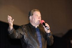 William Shatner Speaks Royalty Free Stock Photo