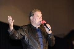 William Shatner Speaks royalty free stock photo