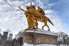 William Sherman Memorial - Central Park, NYC Stock Image