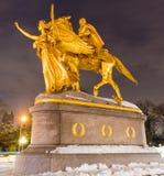 William Sherman Memorial, New York Stockbild