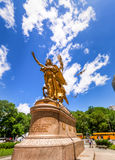 William Sherman memorial in New York City on the corner of Centr Royalty Free Stock Photo