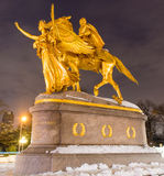William Sherman Memorial, New York Stock Image