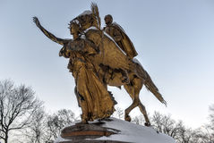 William Sherman Monument - Central Park, New York Royalty Free Stock Photography