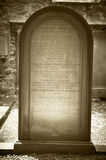 William Smellie Grave in Edinburgh. Encyclopedia Britannica Royalty Free Stock Photography