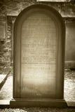 William Smellie Grave in Edinburgh. Encyclopedia Britannica Royalty Free Stock Photography