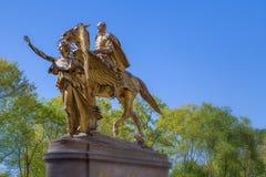 William T. Sherman Statue Stock Photo