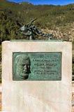 William Waldren pomnik, Deia, Mallorca Zdjęcia Stock