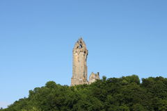 William Wallace monument Arkivbild