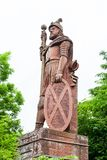 William Wallace Monument. William Wallace was a Scottish knight and the red sandstone monument is located near Melrose in the Scottish Borders Stock Image