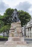 William Wallace statua obraz royalty free