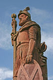 William Wallace statua obrazy royalty free