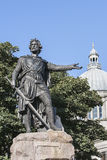 William Wallace statue in Aberdeen, Scotland. William Wallace statue in Aberdeen City , Scotland royalty free stock image