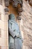 William Wallace-Statue Edinburgh-Schloss Schottland Großbritannien Lizenzfreies Stockfoto