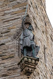 William Wallace statue at The National Wallace Monument in Stirl. Detail of William Wallace statue at The National Wallace Monument in Stirling, Scotland. This Royalty Free Stock Photos