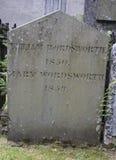 William Wordsworth - igreja do St Oswald, Grasmere fotos de stock royalty free