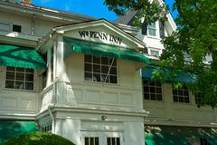 Williamm Penn Inn name detail Royalty Free Stock Images