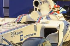 Williams Мартини участвуя в гонке Terrazza Стоковые Изображения RF