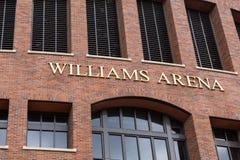 Williams Arena. MINNEAPOLIS, MN/USA - JUNE 20, 2014:  Williams Arena on the campus of the University of Minnesota.  Williams Arena is home of the University of Royalty Free Stock Photo