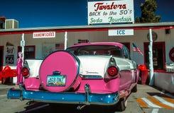 Williams, Arizona, Route 66, automobile del veterano Immagini Stock Libere da Diritti