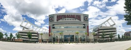 Williams Brice Stadium, Colombie, la Caroline du Sud images libres de droits