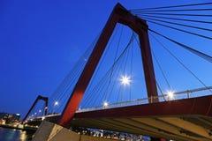 Williams bridge in Rotterdam Stock Photos