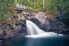 Williams Brook Falls At Mount Carleton Provincial Park stockfoto