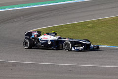 Williams F1 Team - Valtteri Bottas - 2013 Stock Image