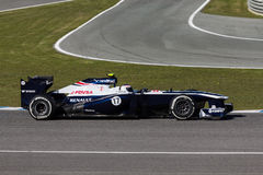 Williams F1 Team - Valtteri Bottas - 2013 Royalty Free Stock Photography