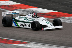 Williams F1 (Алан Jones) Стоковое Фото