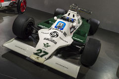 Williams FW07 Lizenzfreies Stockfoto