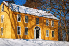 Williams House, Deerfield, doctorandus in de letteren Stock Foto