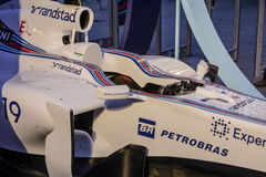 Williams Martini Racing Terrazza Royalty-vrije Stock Foto