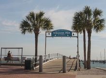 Williams Pier Of Gulfport Stock Photography