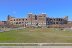 Williams Plaza på Langford gräsplan på Florida delstatsuniversitetuniversitetsområde Fotografering för Bildbyråer