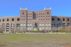 Williams Plaza på Langford gräsplan på Florida delstatsuniversitetuniversitetsområde Arkivfoto
