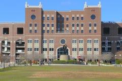 Williams Plaza på Langford gräsplan på Florida delstatsuniversitetuniversitetsområde Arkivbilder
