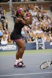 Williams Serena in US öffnen 2009 (54) Stockfotos