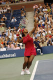 Williams Serena at US Open 2008 (5). Williams Serena (USA) at US Open 2008 def. Bremond Stock Photography
