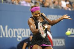 Williams Serena at US Open 2009 (22). Williams Serena the first favourite of US Open 2009 Royalty Free Stock Images