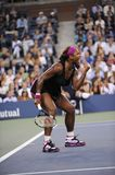 Williams Serena at US Open 2009 (45). Williams Serena the first favourite of US Open 2009 Stock Image