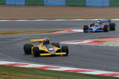 Williams and Tyrrell are racing Royalty Free Stock Images