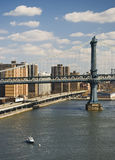 Williamsburg-Brücke stockfotos
