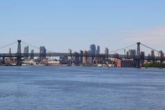Williamsburg-Brücke in New York City Stockbild