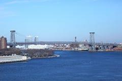 Williamsburg-Brücke in NYC Stockfoto