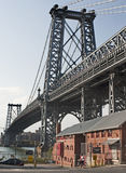 WILLIAMSBURG BRIDGE 003 Royalty Free Stock Image