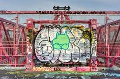 Williamsburg Bridge - Brooklyn, New York Stock Image