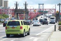 Williamsburg Bridge in New York City Royalty Free Stock Image