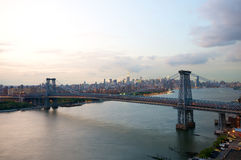 Williamsburg Bridge in New York Stock Photos